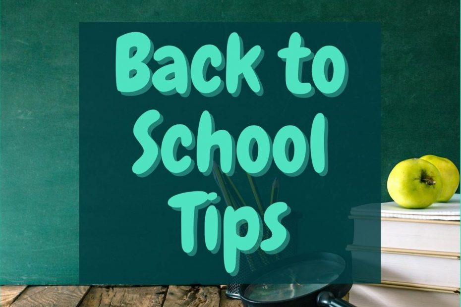 guarantee maid services back to school tips