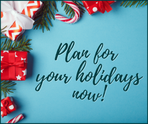 guarantee maid services plan for the holidays now