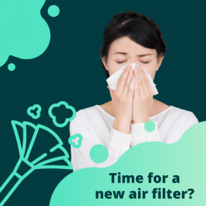 Time for a new air filter?