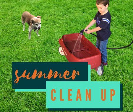 boy spraying wagon guarantee maid services blog